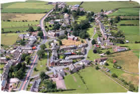Temple Sowerby Village - Aerial photo